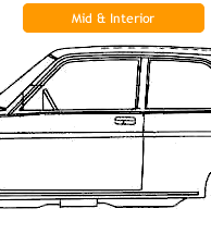 Datsun 510 Mid Section Sheet Metal