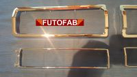 Futofab Datsun 510 Tail Light Rim And Inner Trim 69-73 Pair 2