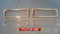 Futofab Datsun 510 Tail Light Rim And Inner Trim 69-73 Pair 9