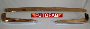 Futofab 70-72 Datsun 240Z Rear Bumper Chrome 1