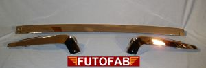 Futofab 70-72 Datsun 240Z Rear Bumper Chrome 3