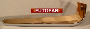 Futofab 70-72 Datsun 240Z Rear Bumper Chrome 6