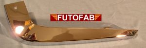 Futofab 70-72 Datsun 240Z Rear Bumper Chrome 7