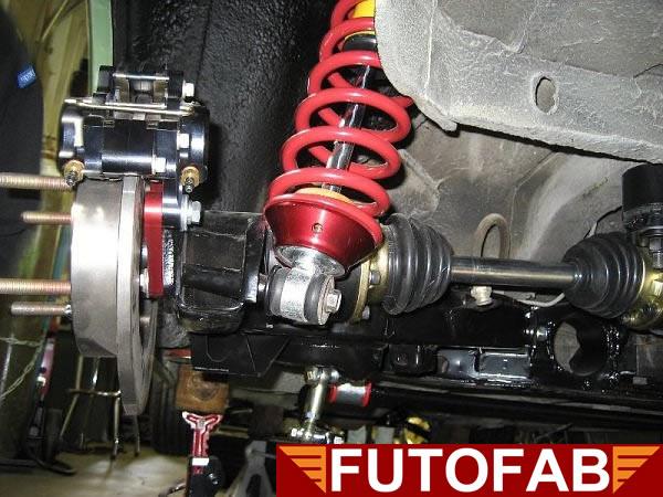 Futofab Type2 100mm Cv Axle Kits
